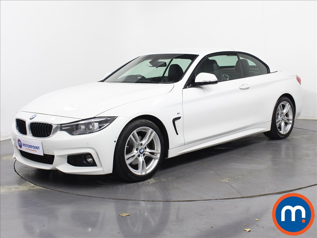 BMW 4 Series M Sport - Stock Number 1068969 Passenger side front corner