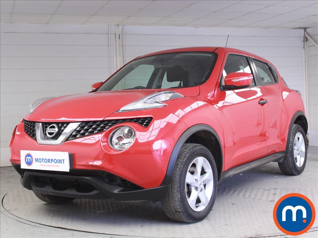 Nissan Juke Visia - Stock Number 1068018 Passenger side front corner