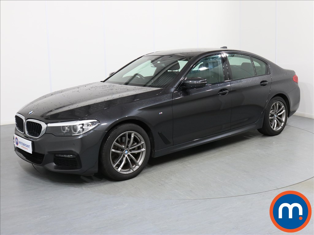 BMW 5 Series M Sport - Stock Number 1067523 Passenger side front corner