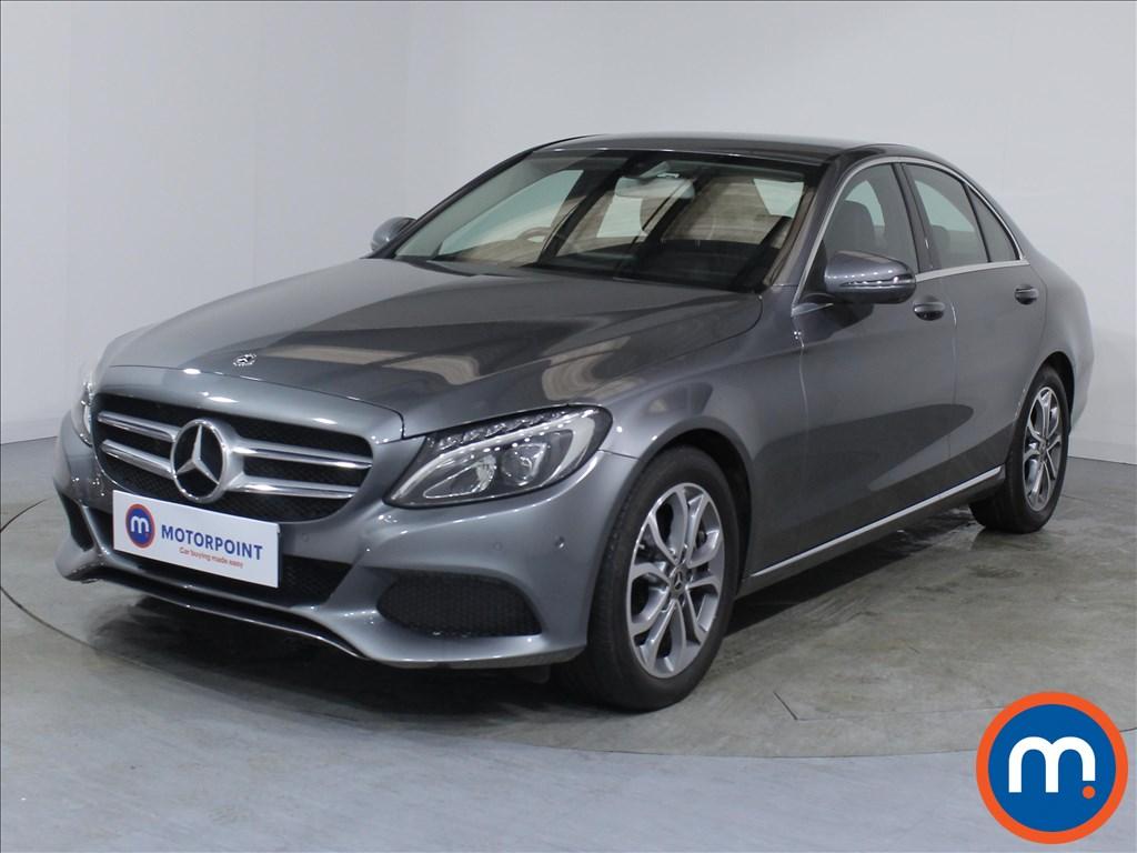 Mercedes-Benz C Class Sport - Stock Number 1068585 Passenger side front corner