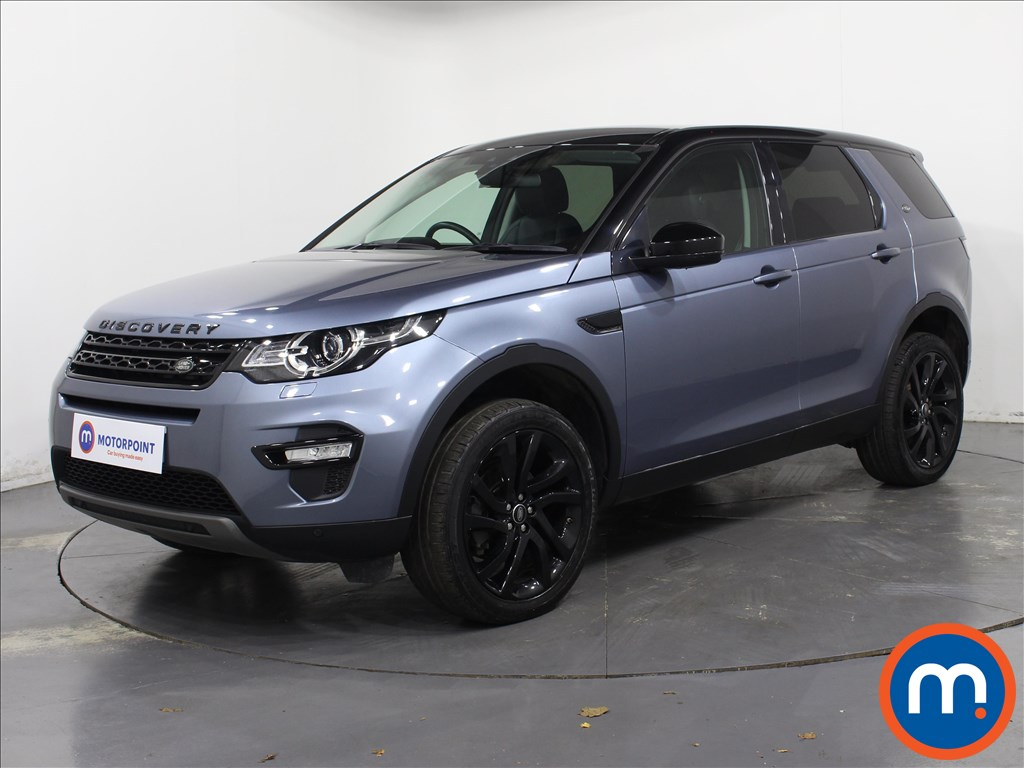 Land Rover Discovery Sport HSE Black - Stock Number 1068944 Passenger side front corner