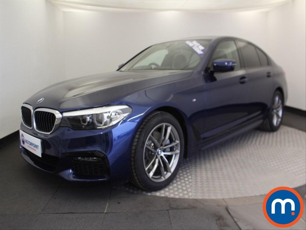 BMW 5 Series M Sport - Stock Number 1066575 Passenger side front corner