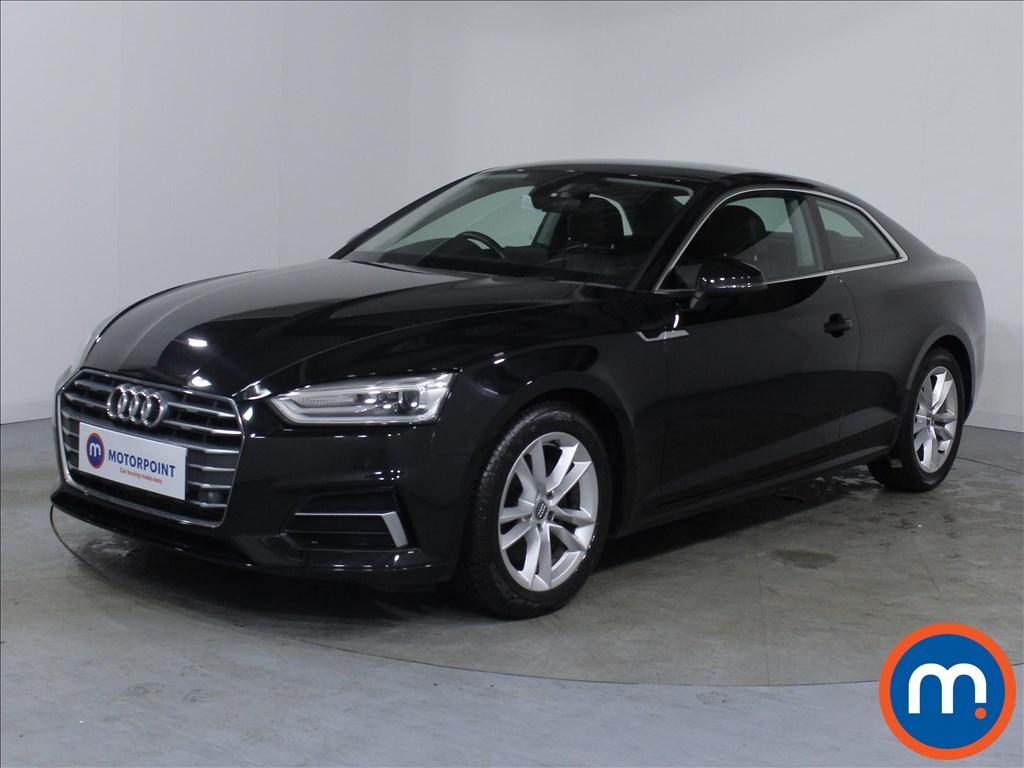 Audi A5 Sport - Stock Number 1067918 Passenger side front corner