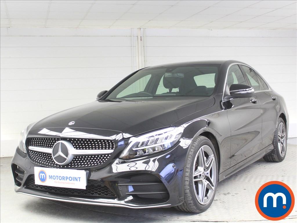 Mercedes-Benz C Class AMG Line - Stock Number 1068530 Passenger side front corner