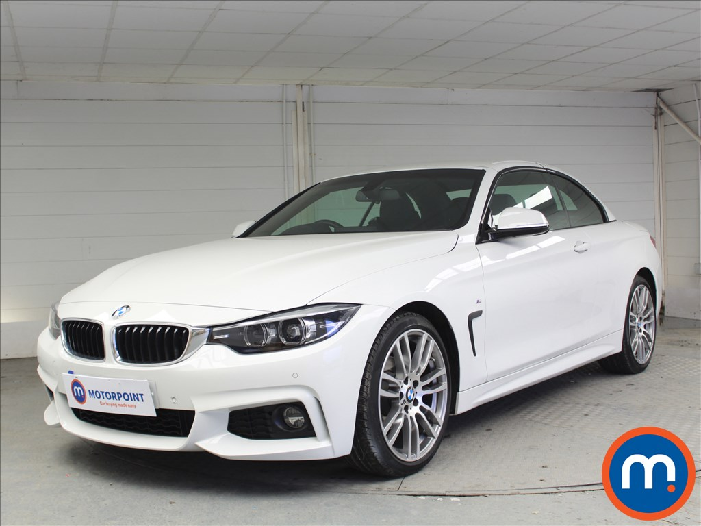 BMW 4 Series M Sport - Stock Number 1053477 Passenger side front corner