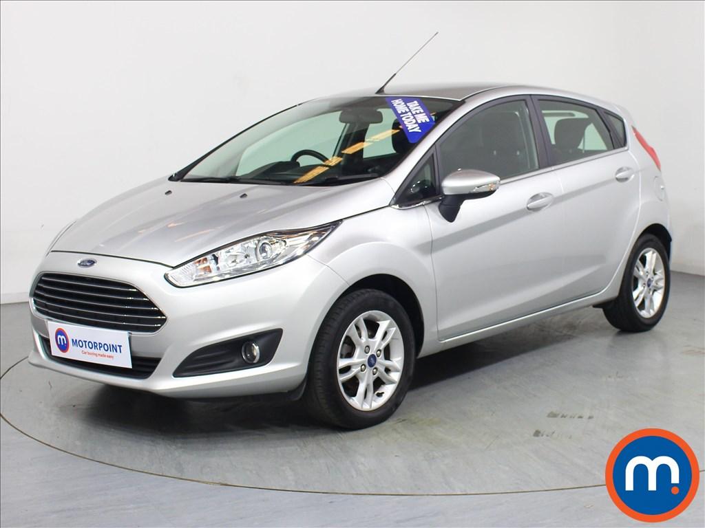 Ford Fiesta Zetec - Stock Number 1069573 Passenger side front corner