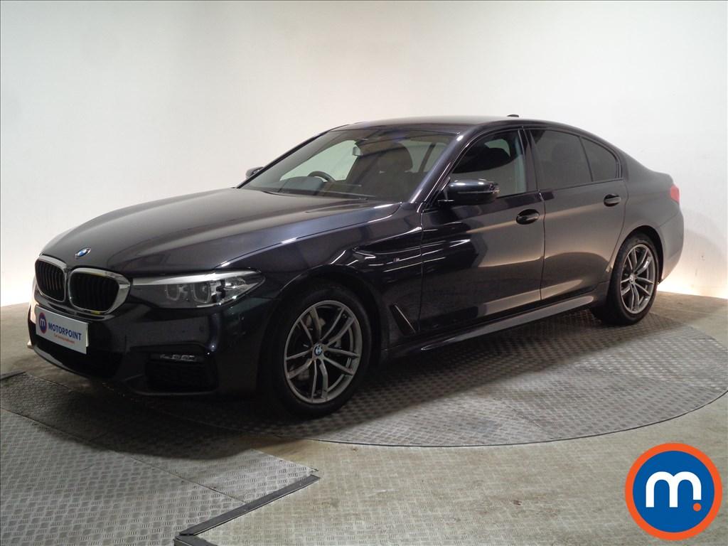 BMW 5 Series M Sport - Stock Number 1068145 Passenger side front corner
