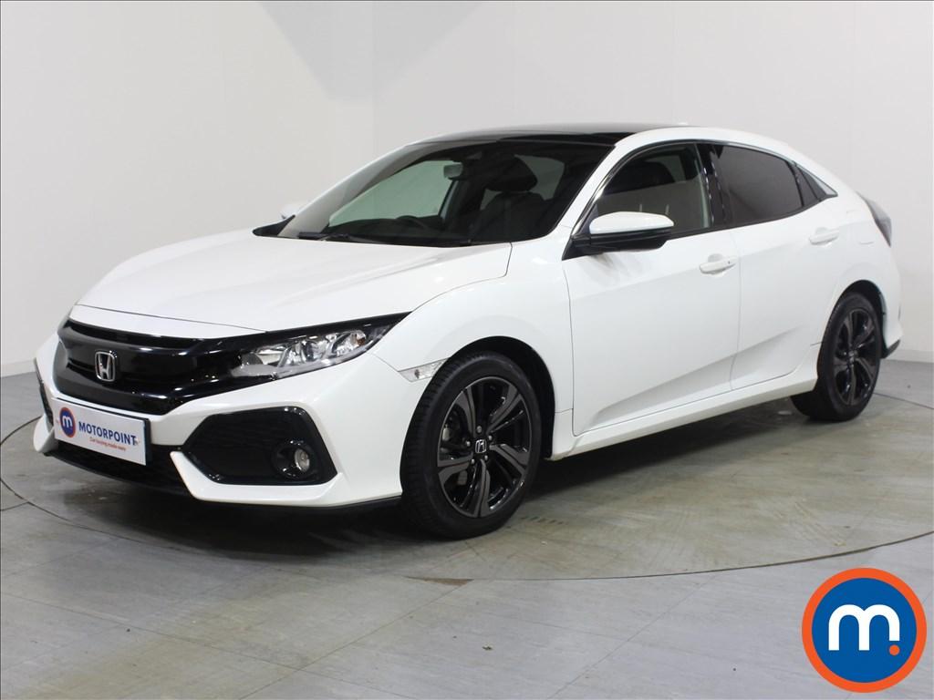 Honda Civic EX - Stock Number 1063121 Passenger side front corner