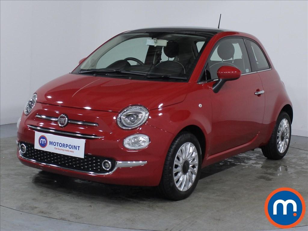 Fiat 500 Lounge - Stock Number 1071128 Passenger side front corner