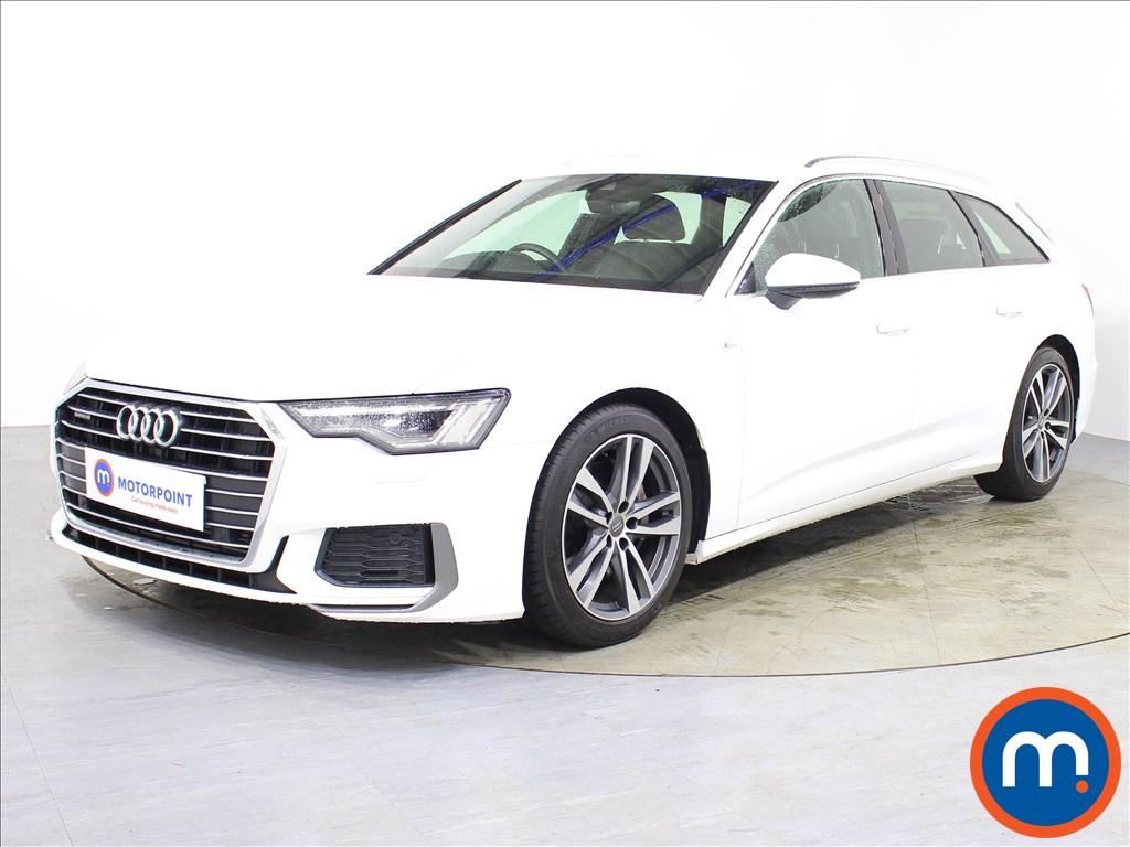 Audi A6 S Line - Stock Number 1067753 Passenger side front corner