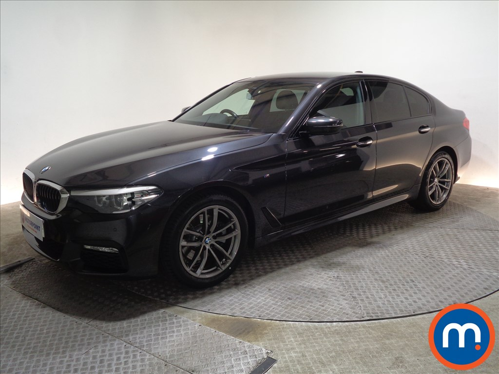 BMW 5 Series M Sport - Stock Number 1067773 Passenger side front corner