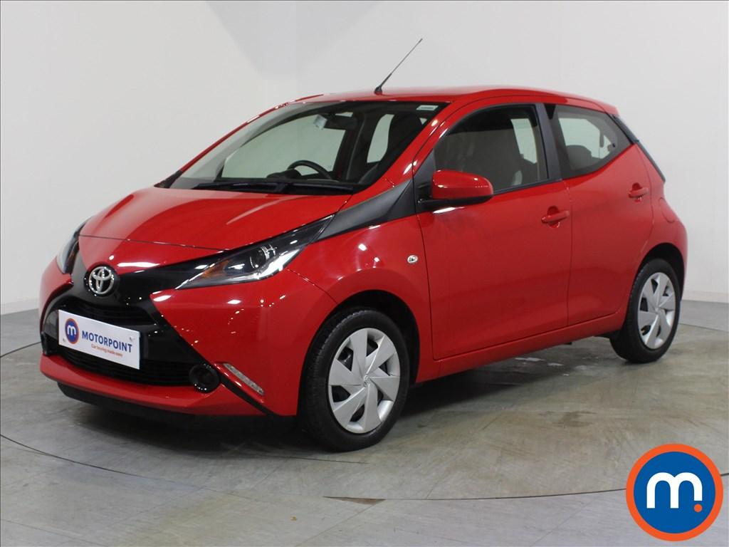 Toyota Aygo X-Play - Stock Number 1069774 Passenger side front corner