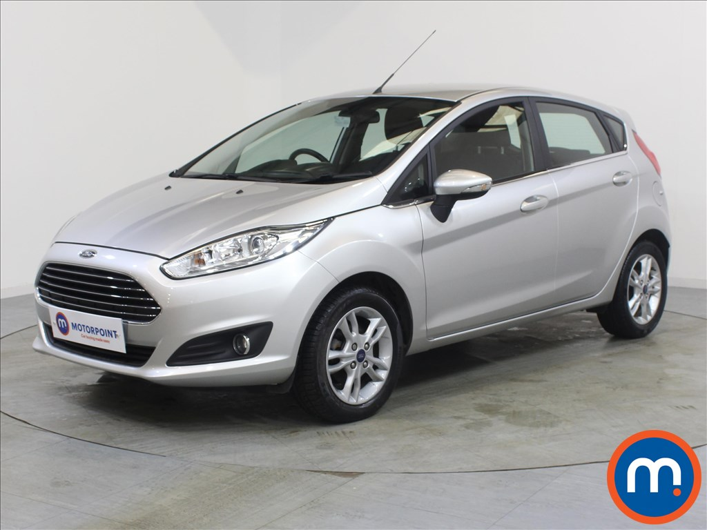 Ford Fiesta Zetec - Stock Number 1068033 Passenger side front corner