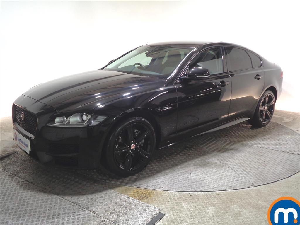 Jaguar XF R-Sport - Stock Number 1066664 Passenger side front corner