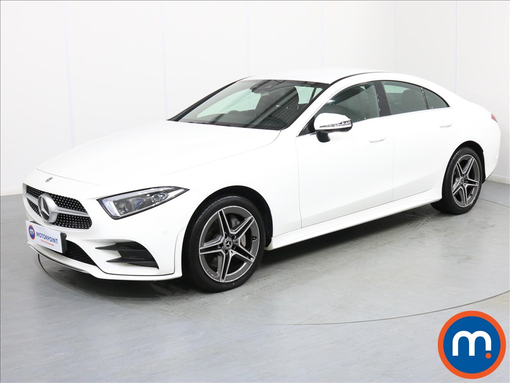Mercedes-Benz CLS AMG Line - Stock Number 1067346 Passenger side front corner