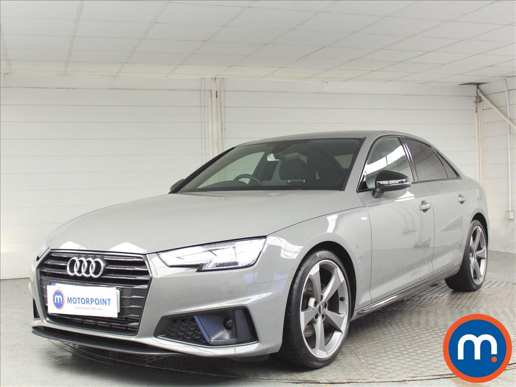 Audi A4 Black Edition - Stock Number 1069850 Passenger side front corner