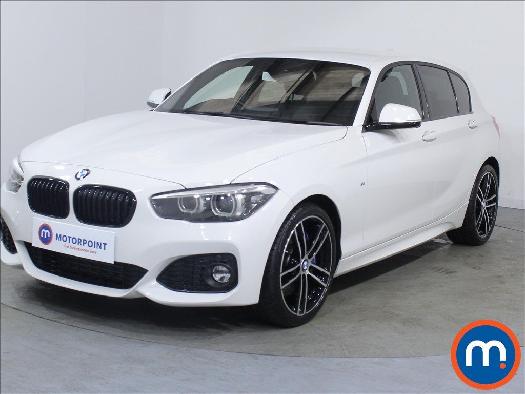 BMW 1 Series M Sport Shadow Edition - Stock Number 1071210 Passenger side front corner