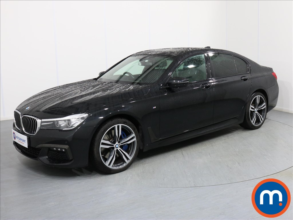 BMW 7 Series M Sport - Stock Number 1071071 Passenger side front corner