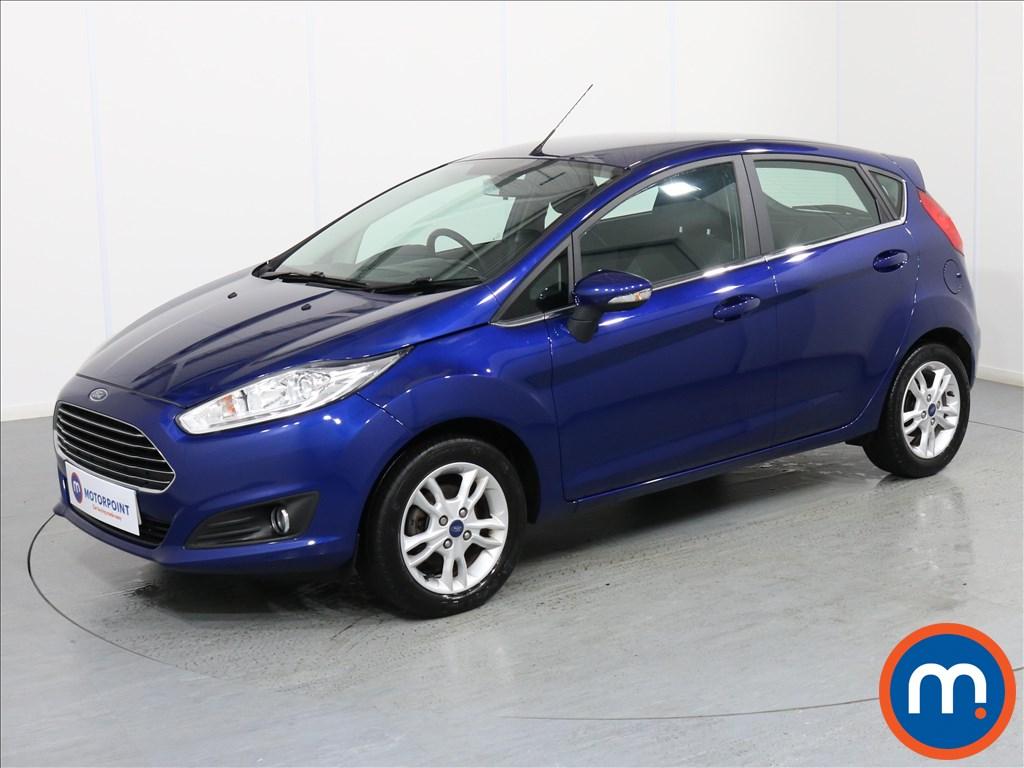Ford Fiesta Zetec - Stock Number 1068000 Passenger side front corner