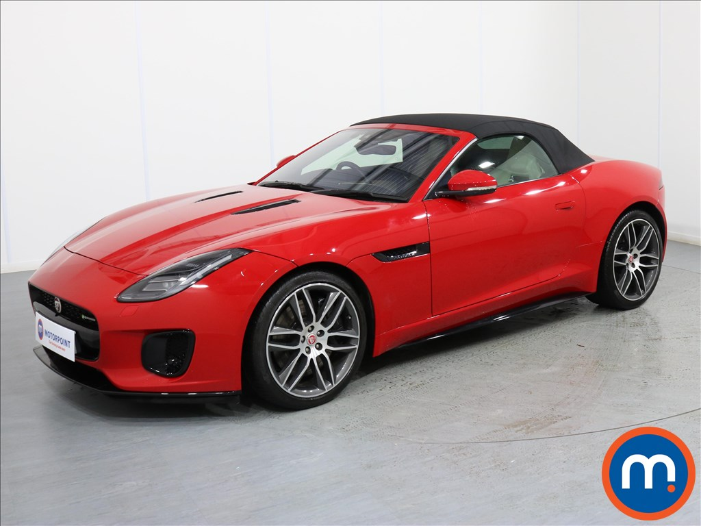 Jaguar F-Type R-Dynamic - Stock Number 1070137 Passenger side front corner