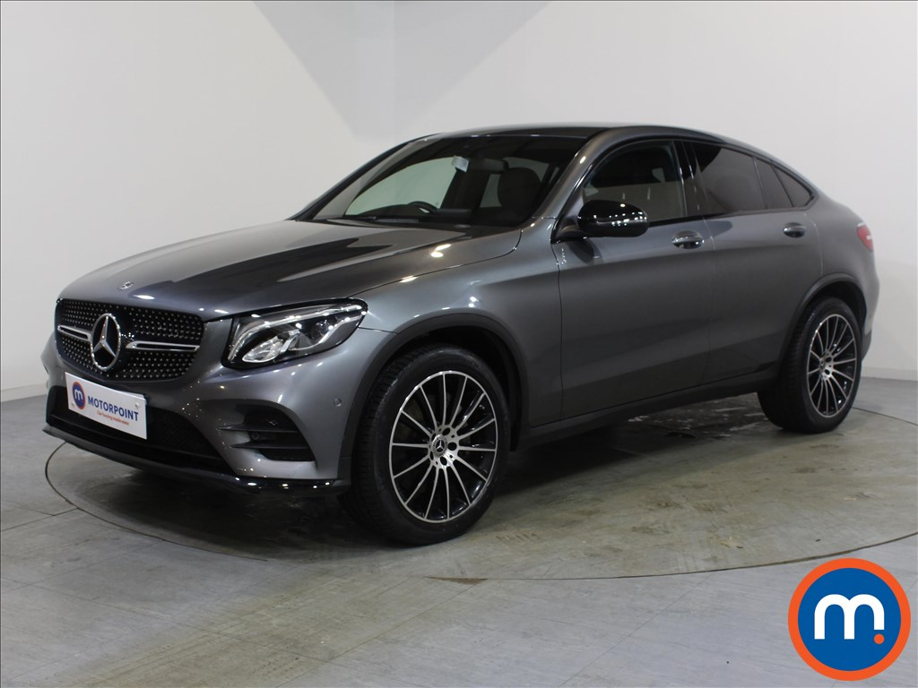 Mercedes-Benz Glc Coupe AMG Line - Stock Number 1071347 Passenger side front corner