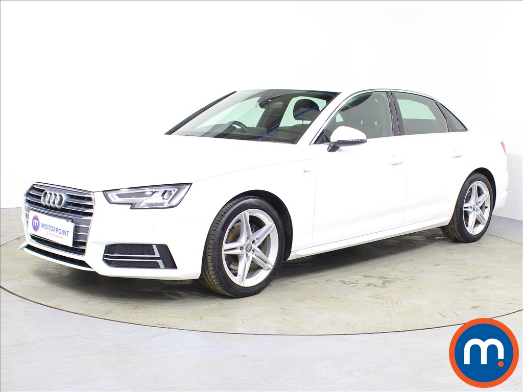 Audi A4 S Line - Stock Number 1071417 Passenger side front corner