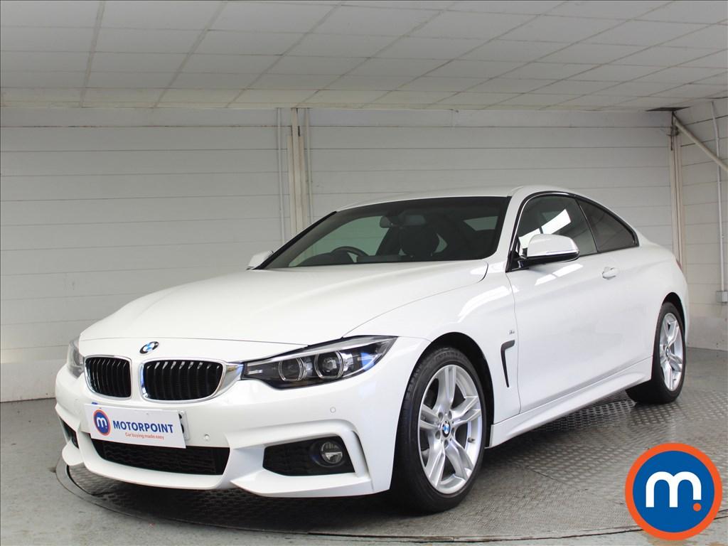 BMW 4 Series M Sport - Stock Number 1072151 Passenger side front corner
