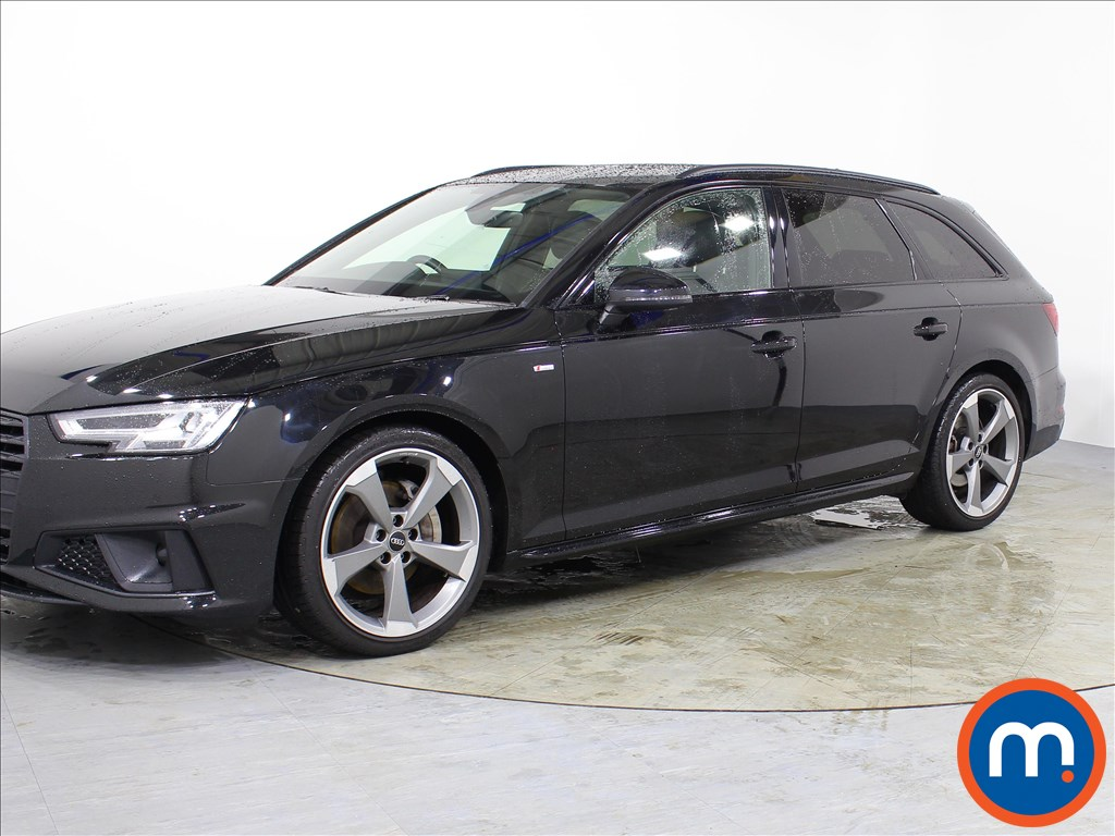Audi A4 Black Edition - Stock Number 1067780 Passenger side front corner