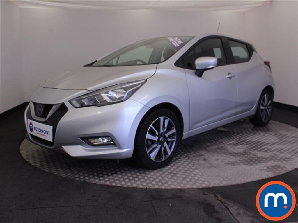Nissan Micra Acenta - Stock Number 1064627 Passenger side front corner