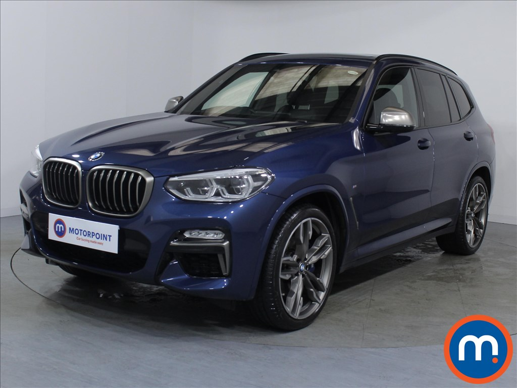 BMW X3 M40i - Stock Number 1071108 Passenger side front corner