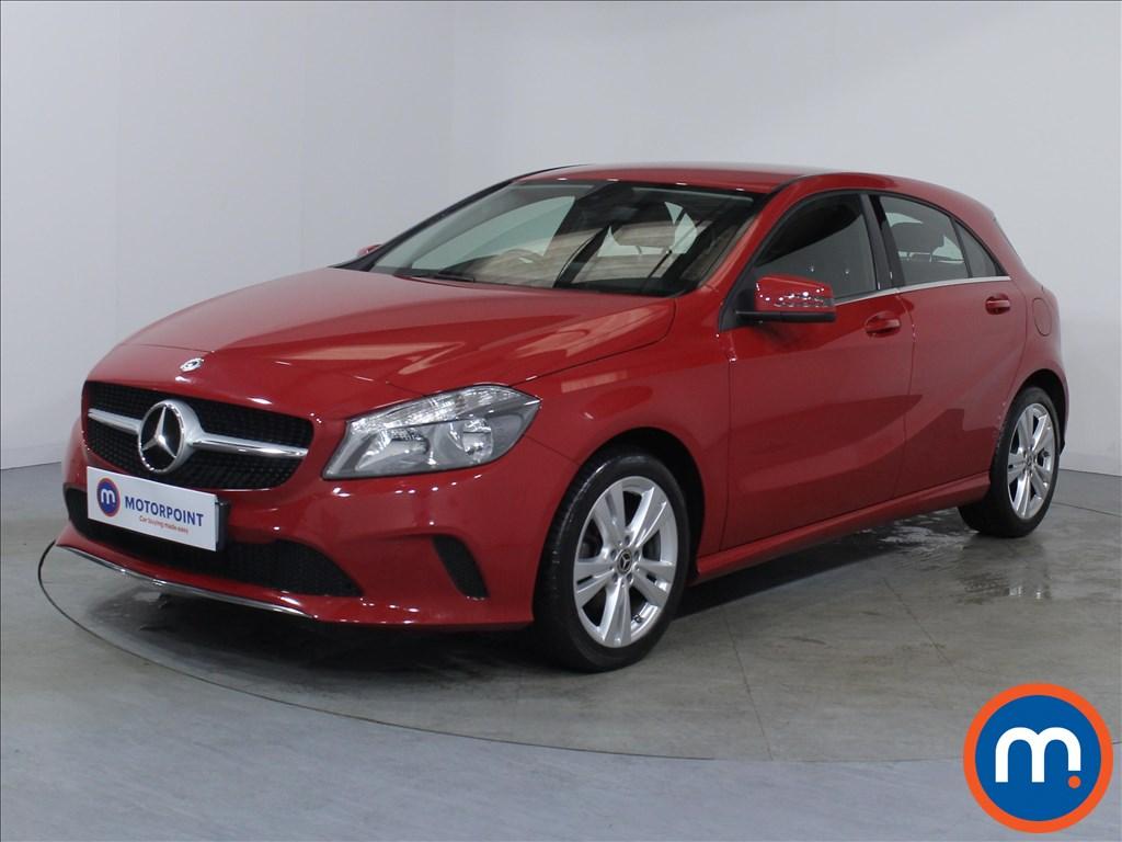 Mercedes-Benz A Class Sport - Stock Number 1071234 Passenger side front corner