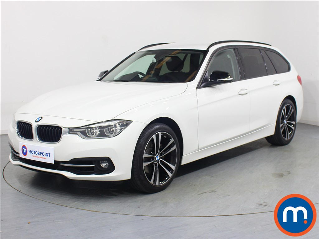 BMW 3 Series Sport - Stock Number 1065043 Passenger side front corner