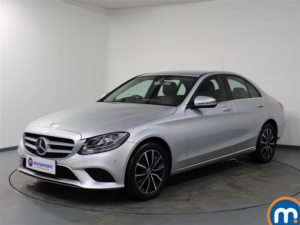 Mercedes-Benz C Class SE - Stock Number 1058374 Passenger side front corner