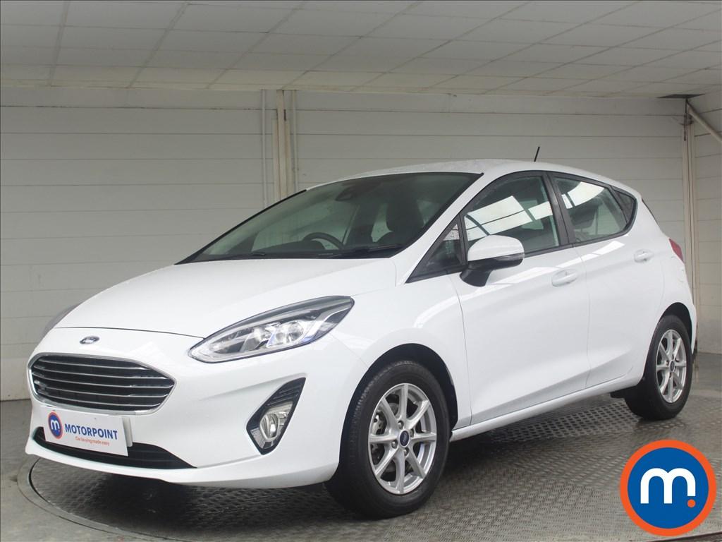 Ford Fiesta Zetec - Stock Number 1067844 Passenger side front corner