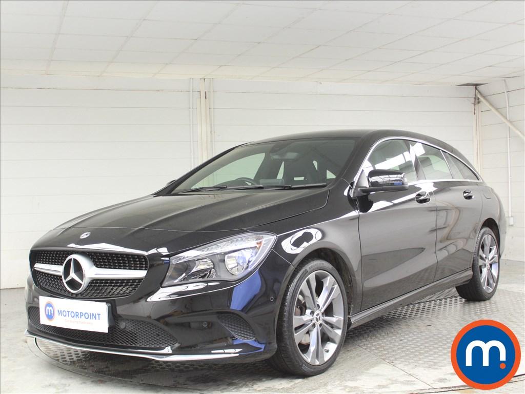 Mercedes-Benz Cla Class Sport - Stock Number 1071726 Passenger side front corner