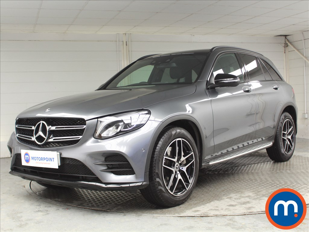Mercedes-Benz GLC Night Edition - Stock Number 1064796 Passenger side front corner