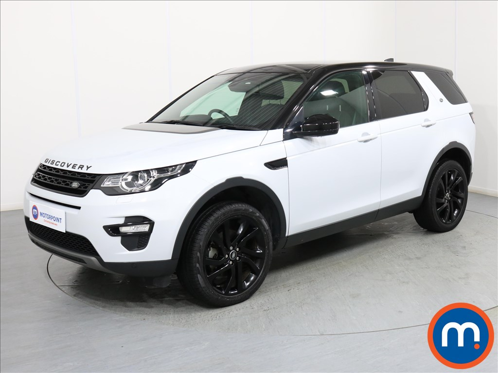 Land Rover Discovery Sport HSE Black - Stock Number 1061349 Passenger side front corner