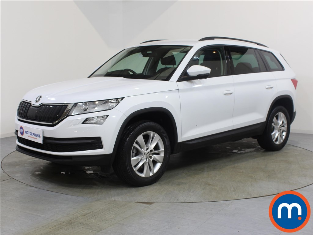 Skoda Kodiaq SE Technology - Stock Number 1069927 Passenger side front corner