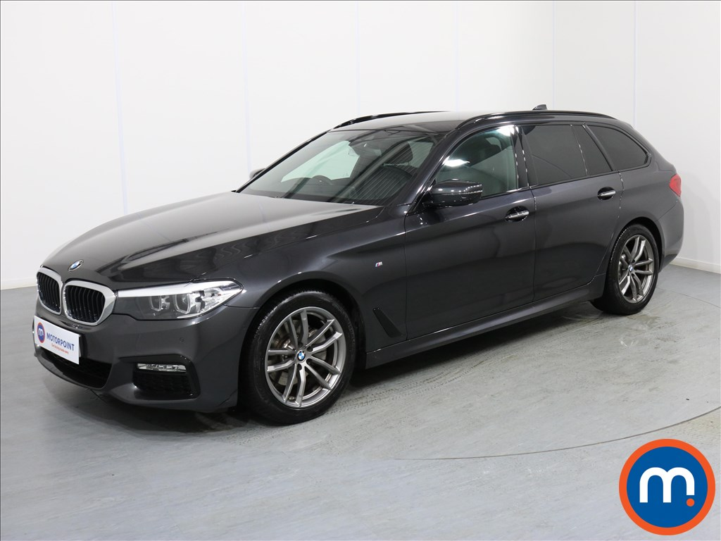 BMW 5 Series M Sport - Stock Number 1071223 Passenger side front corner