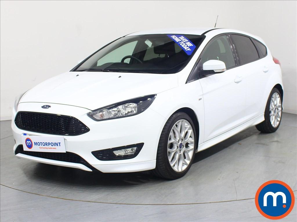 Ford Focus ST-Line - Stock Number 1063706 Passenger side front corner