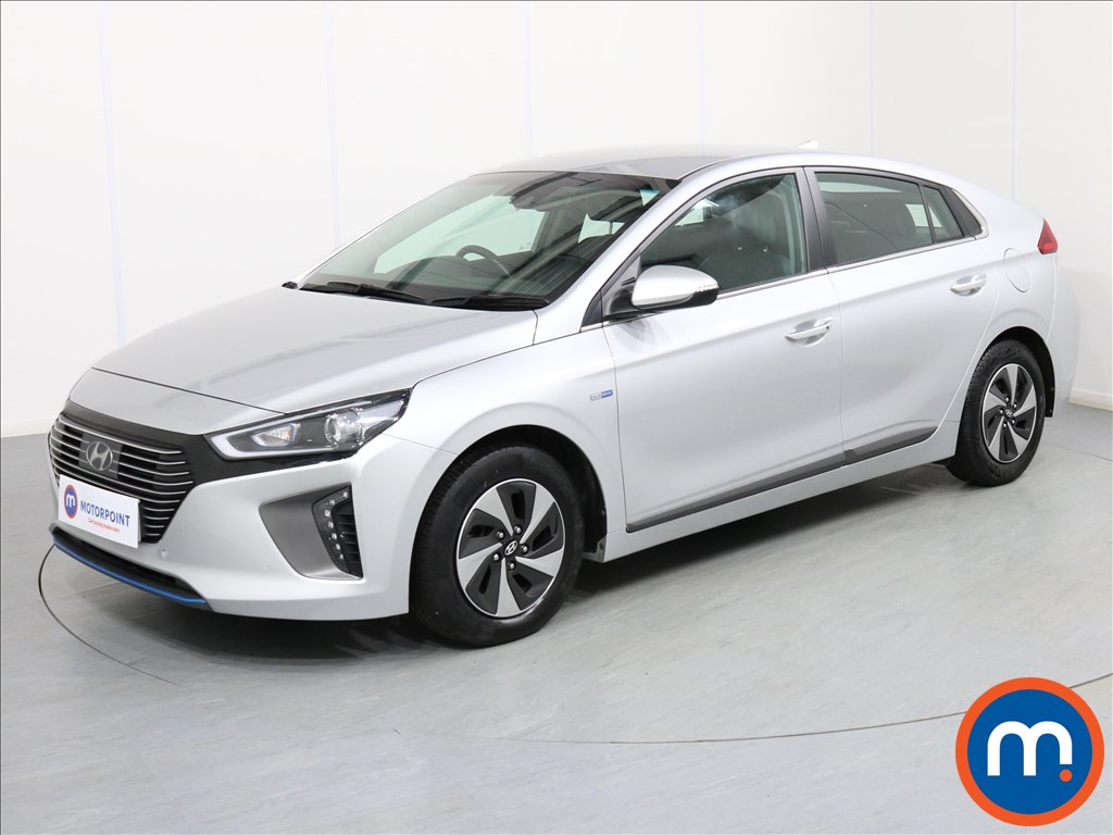 Hyundai Ioniq Premium SE - Stock Number 1067459 Passenger side front corner