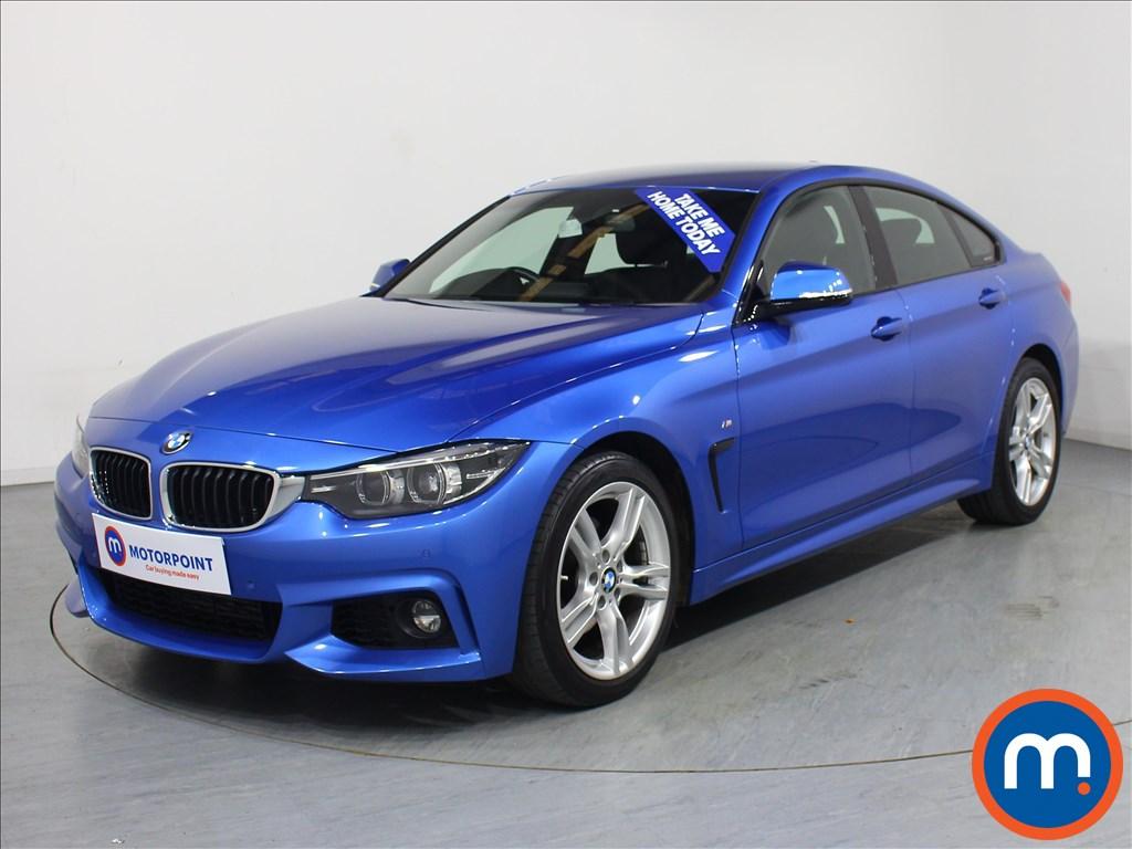 BMW 4 Series M Sport - Stock Number 1072690 Passenger side front corner