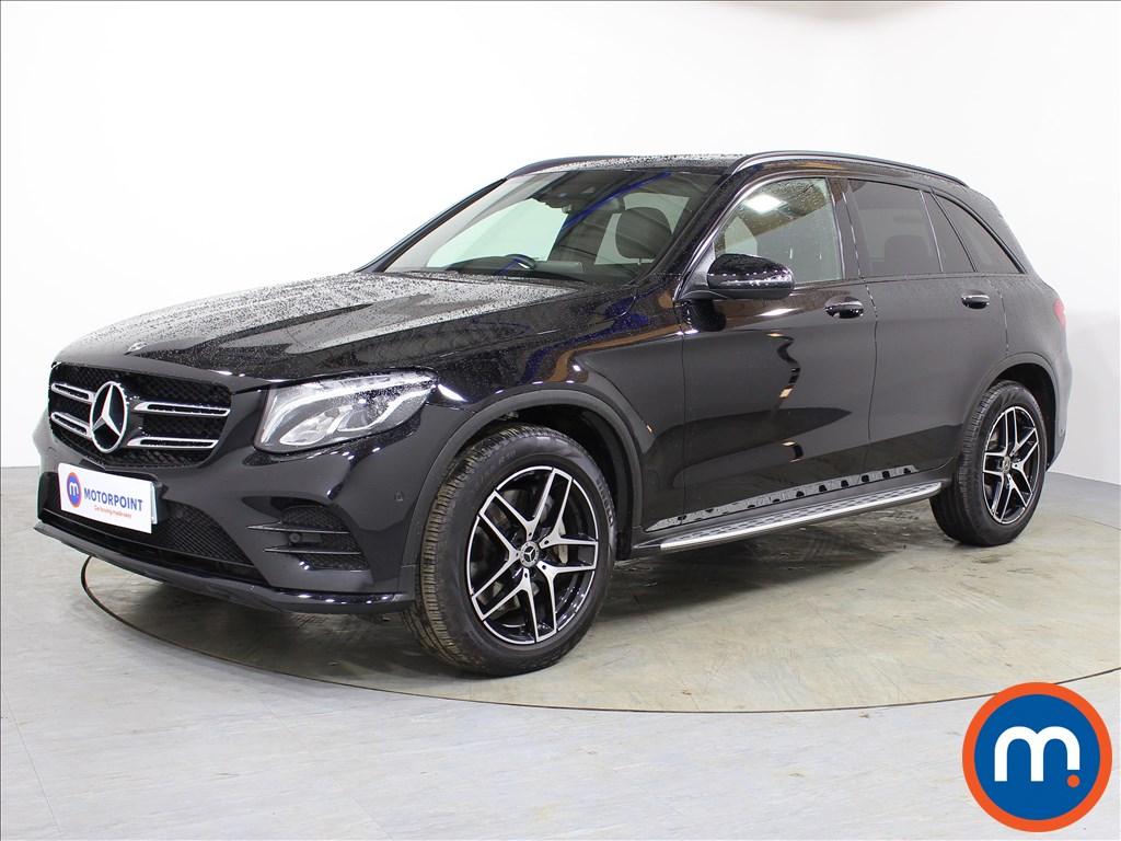 Mercedes-Benz GLC Night Edition - Stock Number 1065073 Passenger side front corner