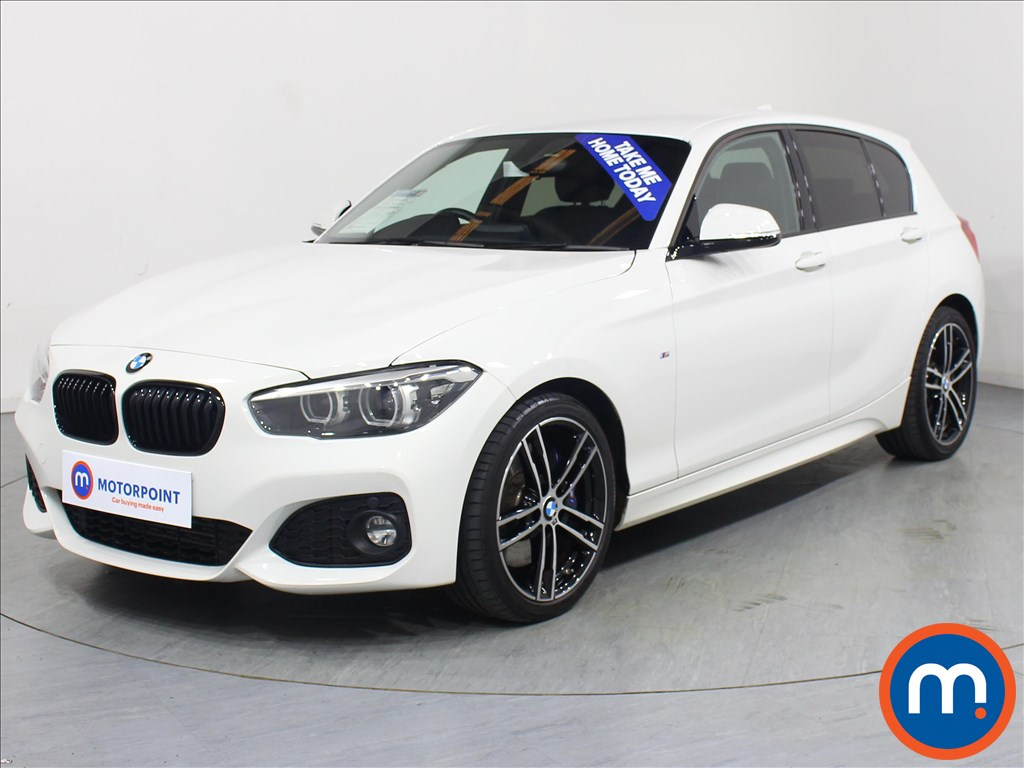 BMW 1 Series M Sport Shadow Edition - Stock Number 1071259 Passenger side front corner