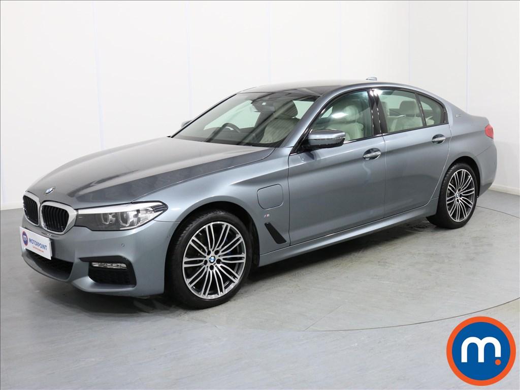 BMW 5 Series M Sport - Stock Number 1071599 Passenger side front corner