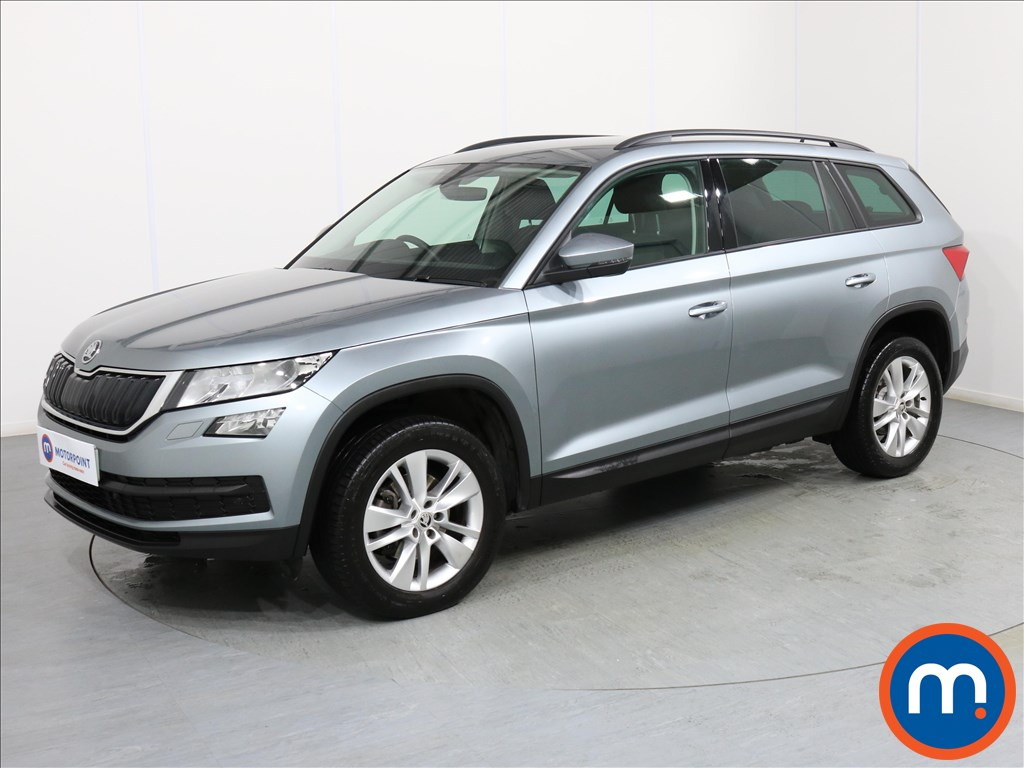 Skoda Kodiaq SE Technology - Stock Number 1071443 Passenger side front corner