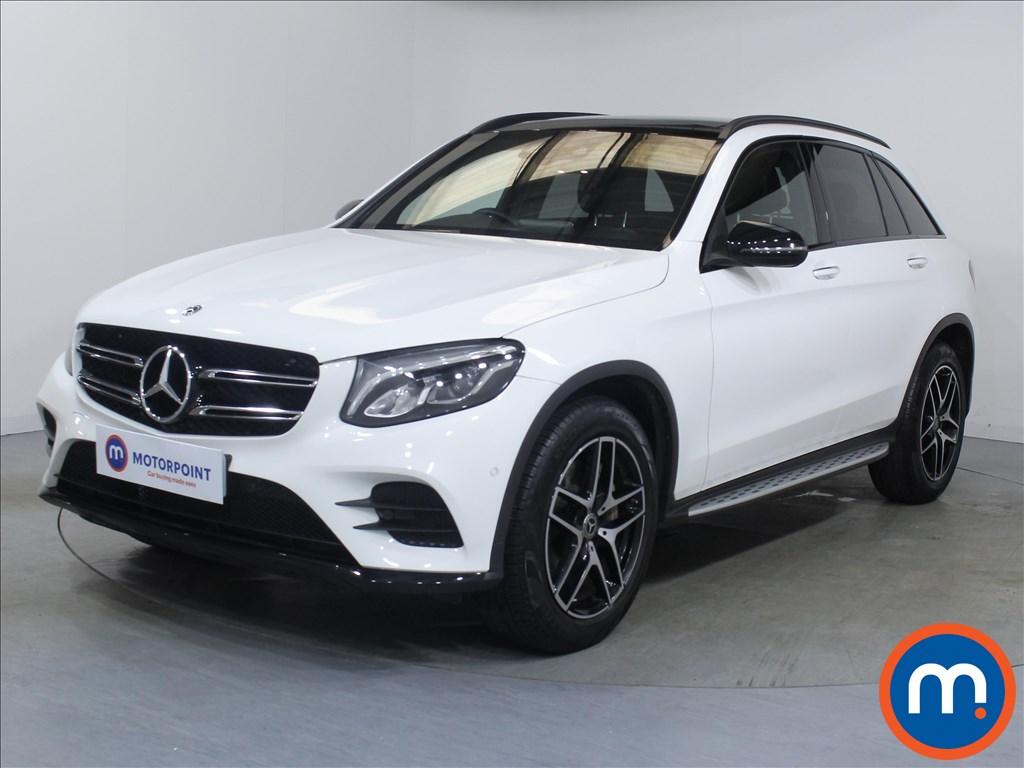 Mercedes-Benz GLC Night Edition - Stock Number 1067959 Passenger side front corner