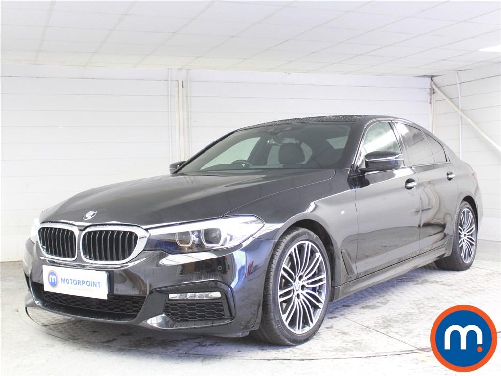 BMW 5 Series M Sport - Stock Number 1073439 Passenger side front corner