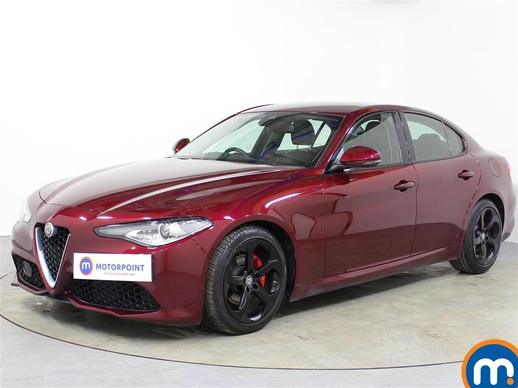 Alfa Romeo Giulia Speciale - Stock Number 1068290 Passenger side front corner