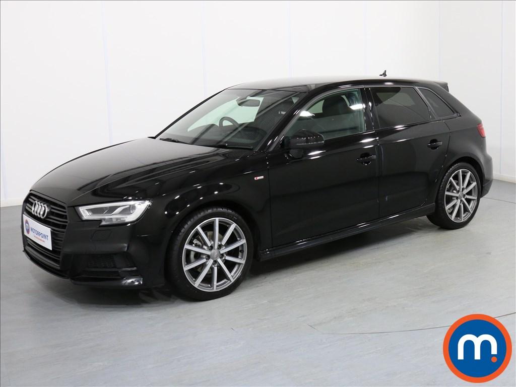 Audi A3 Black Edition - Stock Number 1071326 Passenger side front corner